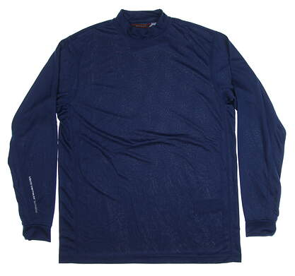 New Mens Mizuno Base Layer Large L Blue MSRP $70