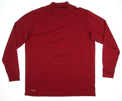 New Mens Mizuno Base Layer X-Large XL Red MSRP $79