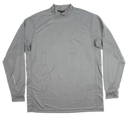 New Mens Mizuno Base Layer Medium M Gray MSRP $70