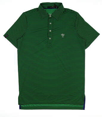 New W/ Logo Womens Ralph Lauren RLX Golf Polo Small S Multi MSRP $90