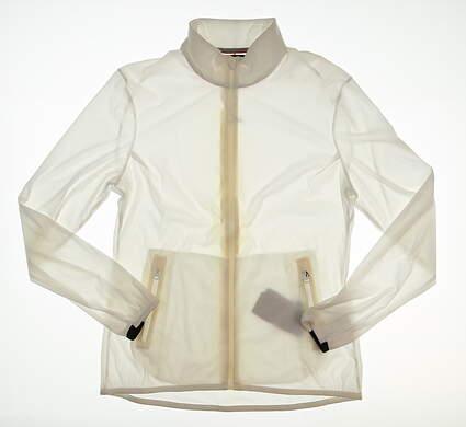 New Womens KJUS Delvin Jacket Large L White MSRP $250 LG15-609
