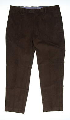 New Mens Peter Millar Corduroy Pants 40x30 Brown MSRP $145 MF17B91FB