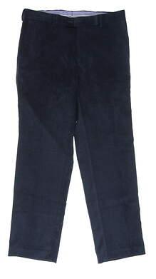 New Mens Peter Millar Corduroy Pants 32x30 Navy Blue MSRP $145