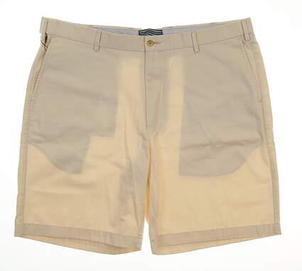 New Mens Peter Millar Golf Shorts Size 40 Sand MSRP $80 MC0B31