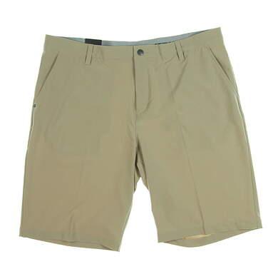 New Mens Adidas Ultimate 365 Shorts Size 38 Khaki MSRP $65 CE0457