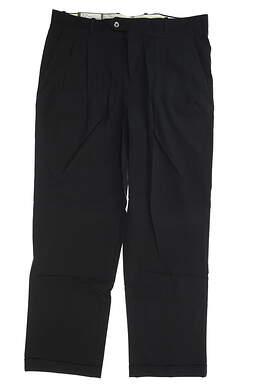 New Mens Fairway & Greene Golf Pants 38x32 Navy Blue MSRP $65