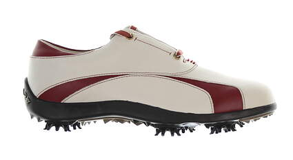 New Womens Golf Shoe Footjoy Lopro 7 White/Red MSRP $140