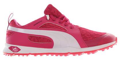 New Womens Golf Shoe Puma BioFly Mesh 8.5 Beatroot Purple/White MSRP $90