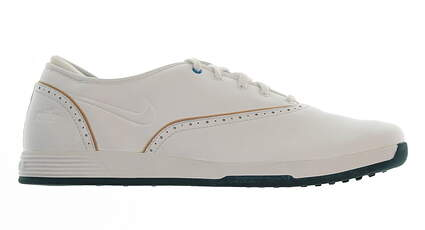 New Womens Golf Shoe Nike Lunar Duet Classic Medium 9.5 White MSRP $95