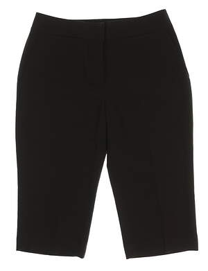 New Womens Sport Haley Golf Capris Size 6 Black MSRP $89