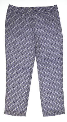 New Womens Sport Haley Golf Pants Size 10 Multi MSRP $99
