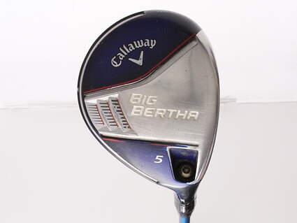 Callaway 2014 Big Bertha Fairway Wood 5 Wood 5W 18* Graphite Design Tour AD GT-6 Graphite Stiff Right Handed 43 in