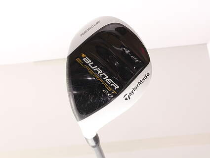 TaylorMade Burner Superfast 2.0 Hybrid 4 Hybrid 21* TM Reax Superfast 60 Graphite Regular Left Handed 40.25 in