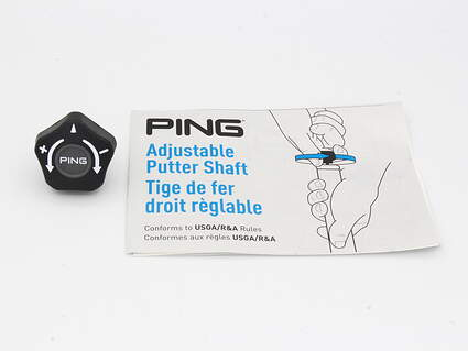 Ping Adjustable Putter Shaft Tool W/ Instructional Manual