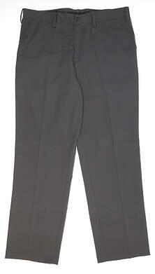 New Mens Adidas Golf Pants 33x30 Gray MSRP $75 AE9228
