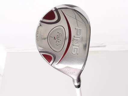 Ping Faith Fairway Wood 5 Wood 5W 22* Ping ULT 200 Ladies Graphite Ladies Right Handed 41.75 in