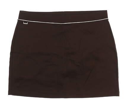 New Womens Ralph Lauren Golf Skort Size X-Large XL Brown MSRP $125
