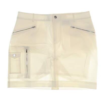New Womens Ralph Lauren Golf Skort Size 12 White MSRP $125