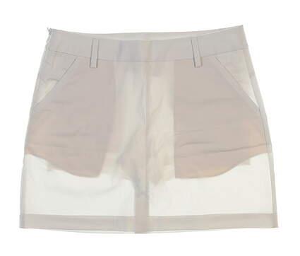 New Womens Puma Golf Skort Size 10 White MSRP $65