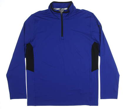New Mens Puma Proven 1/4 Zip Pullover Medium M Surf the Web MSRP $75 577900 07