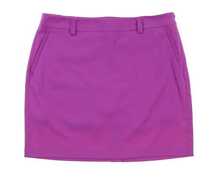 New Womens Ralph Lauren Golf Skort Size 10 Purple MSRP $125