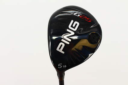 Ping G25 Fairway Wood 5 Wood 5W 18* Ping TFC 189F Graphite Stiff Left Handed 42.5 in