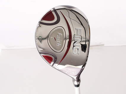 Mint Ping Faith Fairway Wood 7 Wood 7W 26* Ping ULT 200 Ladies Graphite Ladies Right Handed 41.25 in
