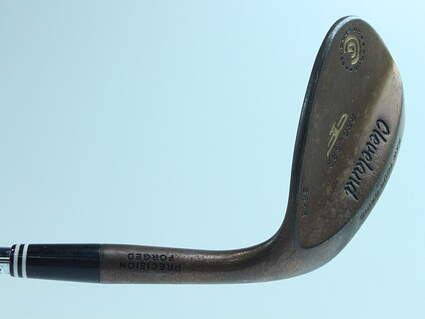 Cleveland 2012 588 Raw Tour Grind Wedge Sand SW 56° 8 Deg Bounce True Temper Dynamic Gold Steel Wedge Flex Right Handed 36.0in