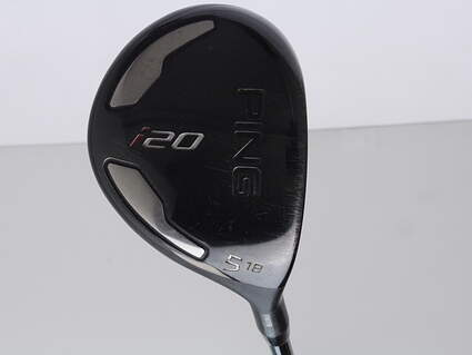 Ping I20 Fairway Wood 5 Wood 5W 18* Project X 5.5 Graphite Black Graphite Regular Right Handed 42 in