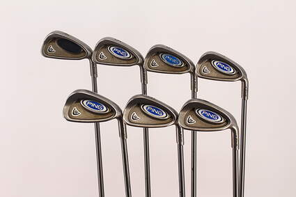 Ping i5 Iron Set 4-PW Ping TFC 100I Graphite Regular Right Handed Blue Dot 37.75 in