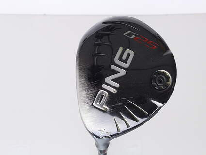 Ping G25 Fairway Wood 7 Wood 7W 21* Ping TFC 189F Graphite Senior Left Handed 41.75 in
