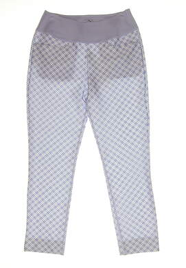 New Womens Puma PWRSHAPE Checker Pants Size Small S Sweet Lavender MSRP $85 577955 03