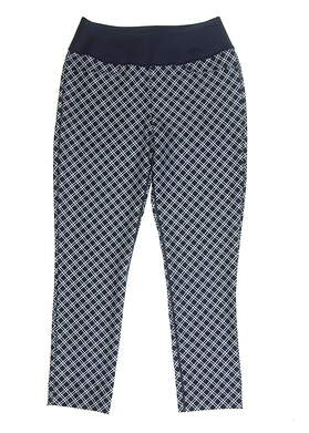 New Womens Puma PWRSHAPE Checker Pants Size Small S Peacoat MSRP $85 577955 01