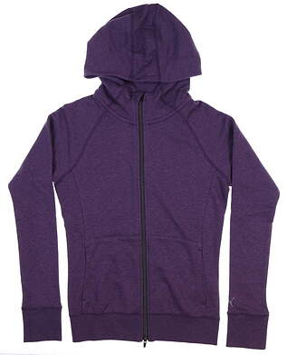 New Puma Brisk Hoodie Small Purple 577938 03