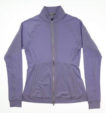 New Womens Puma Vented Jacket Small S Sweet Lavender Heather MSRP $75 577937 04