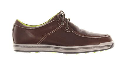 New Mens Golf Shoe Footjoy Contour Casual Medium 9 Brown MSRP $140