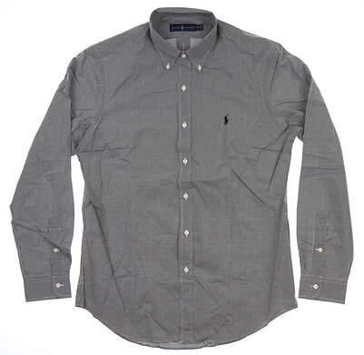 New Mens Ralph Lauren Button Up Medium M Multi MSRP $99