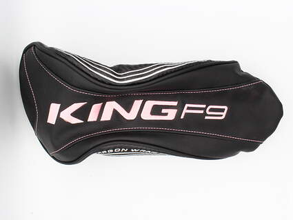 Cobra KING F9 Speedback Womens Driver Headcover Black/Pink