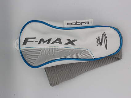 Cobra F-Max Womens Fairway Wood Headcover White/Blue