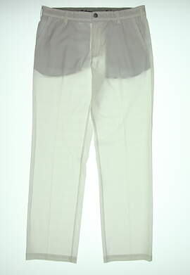 New Adidas Golf Pants MSRP $85. Mens. Size 36X32. White.