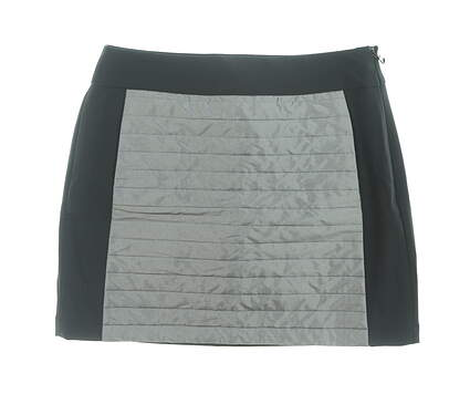 New Womens Ralph Lauren Golf Skort Size 6 Black/Gray MSRP $145 281639790001