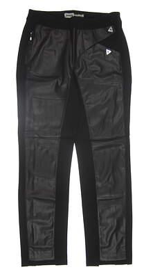 New Womens Jamie Sadock Golf Pants 10 Black 82311