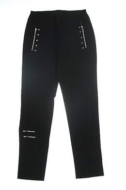 New Jamie Sadock Womens Golf Pants Size 12 Black 81325