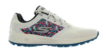 New Womens Golf Shoe Skechers Go Golf Eagle Range 7.5 White/Navy MSRP $75
