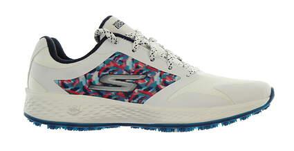 New Womens Golf Shoe Skechers Go Golf Eagle Range 6 White/Navy MSRP $75