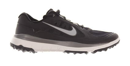 New Mens Golf Shoe Nike Fi Impact Medium 11 Black/Gray MSRP $200