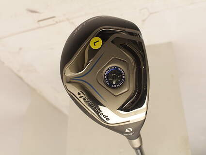 TaylorMade Jetspeed Hybrid 6 Hybrid 28* TM Matrix VeloxT 49 Graphite Ladies Right Handed 38.5 in