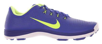New Mens Golf Shoe Nike Lunar Cypress Medium 11 Blue/Volt MSRP $230