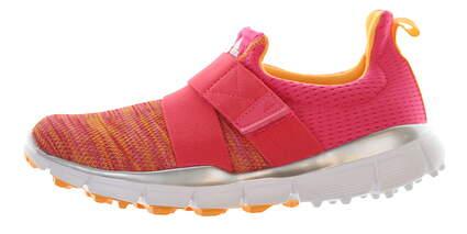 New Womens Golf Shoe Adidas ClimaCool Knit Medium 6 Pink/Orange MSRP $110