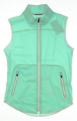 New W/ Logo Womens Footjoy Softshell Golf Vest Medium M Blue MSRP $135 24945
